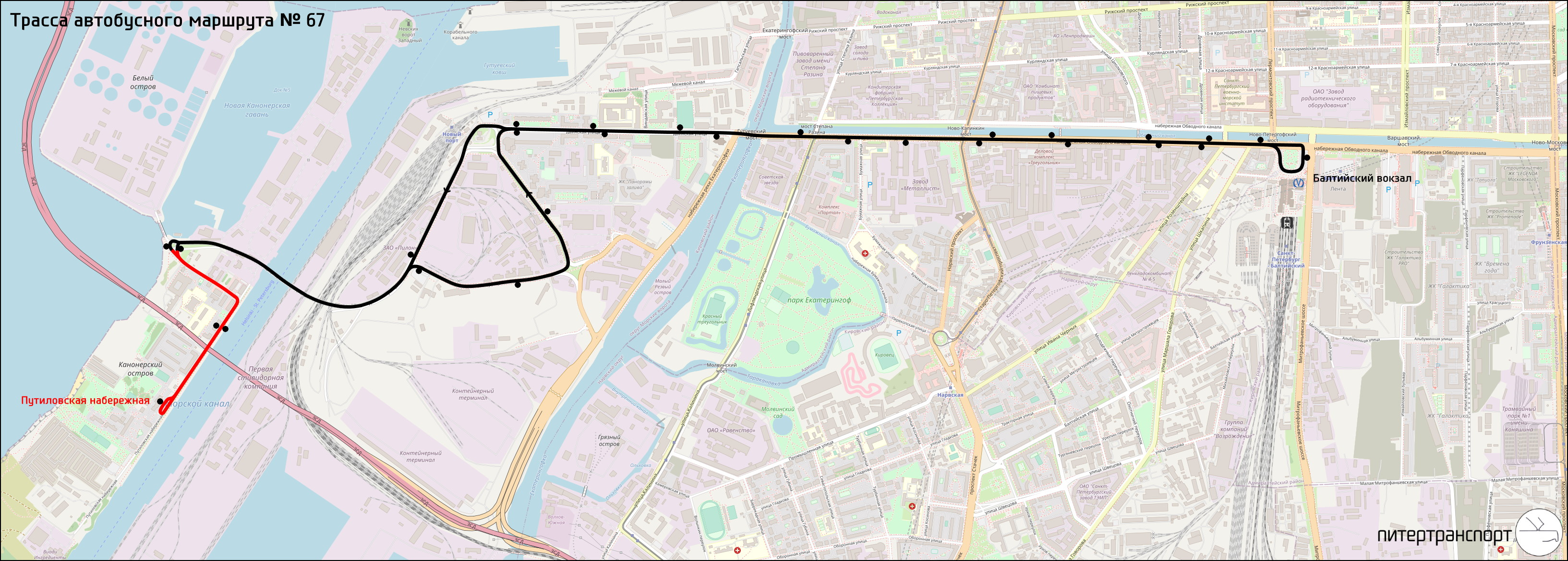 Схема проезда на фонтанку 154