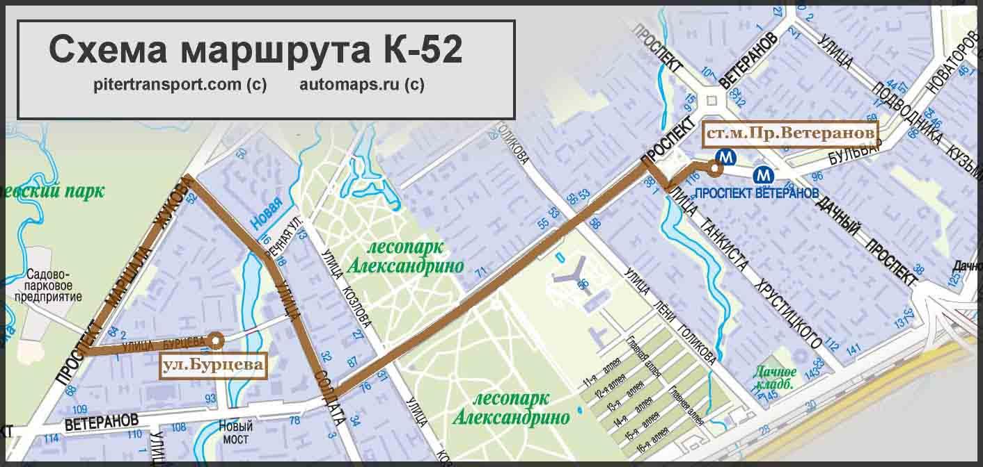 маршрутки от рыбацкого до московских ворот