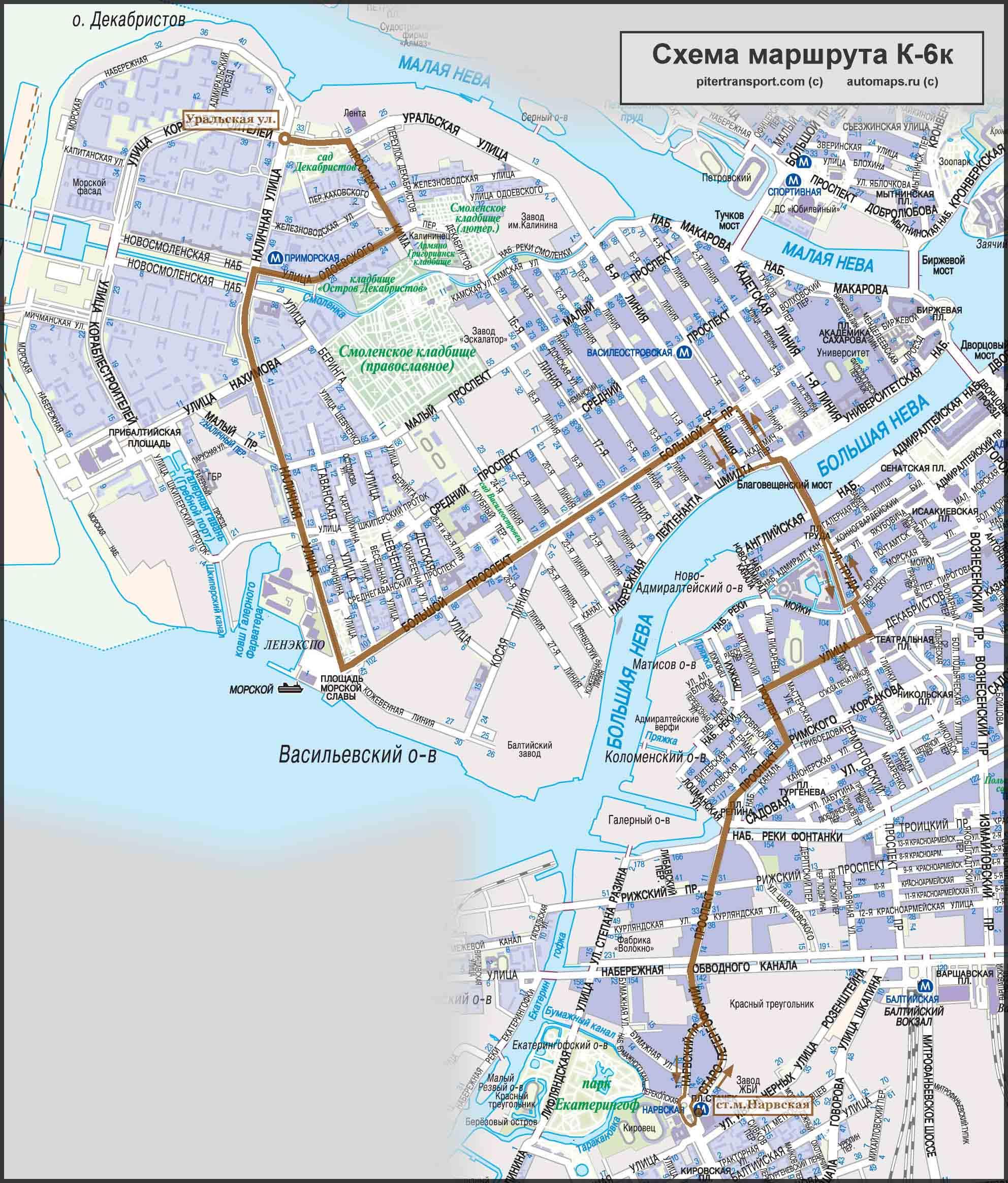 схема маршруту 26
