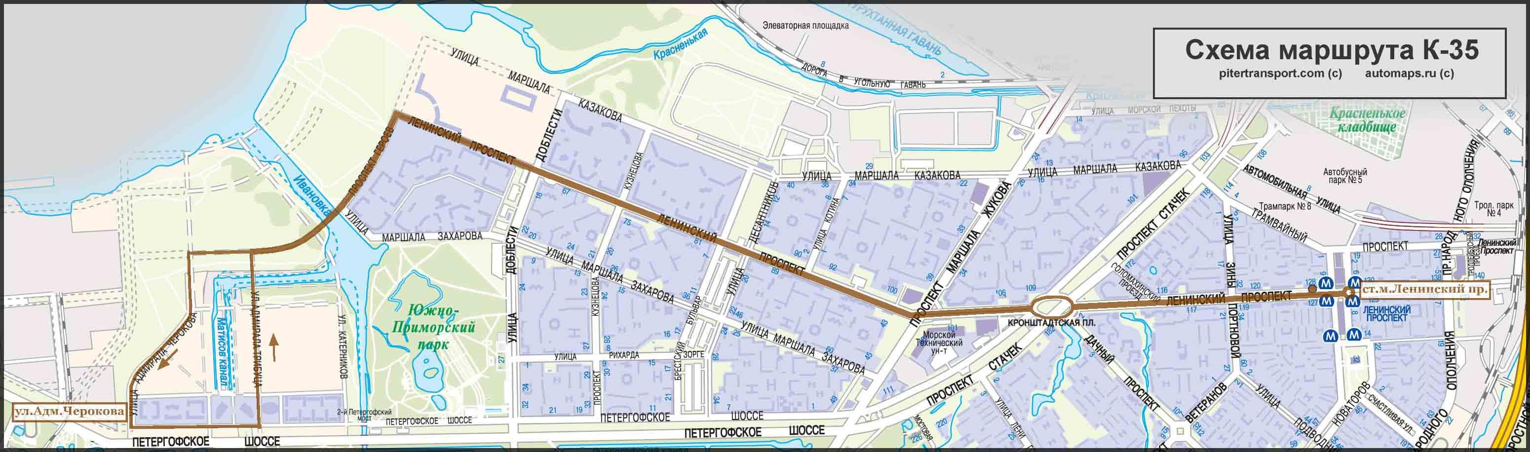 Схема маршрута маршрутного такси фото 268